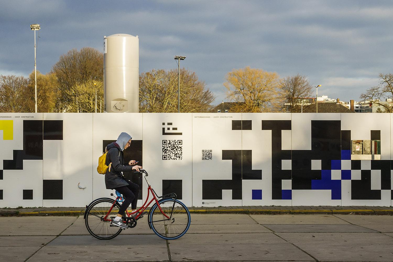 Aanleg Rotterdamsebaan, Binckhorstlaan, Binckhorst, Den Haag – 25 december 2018